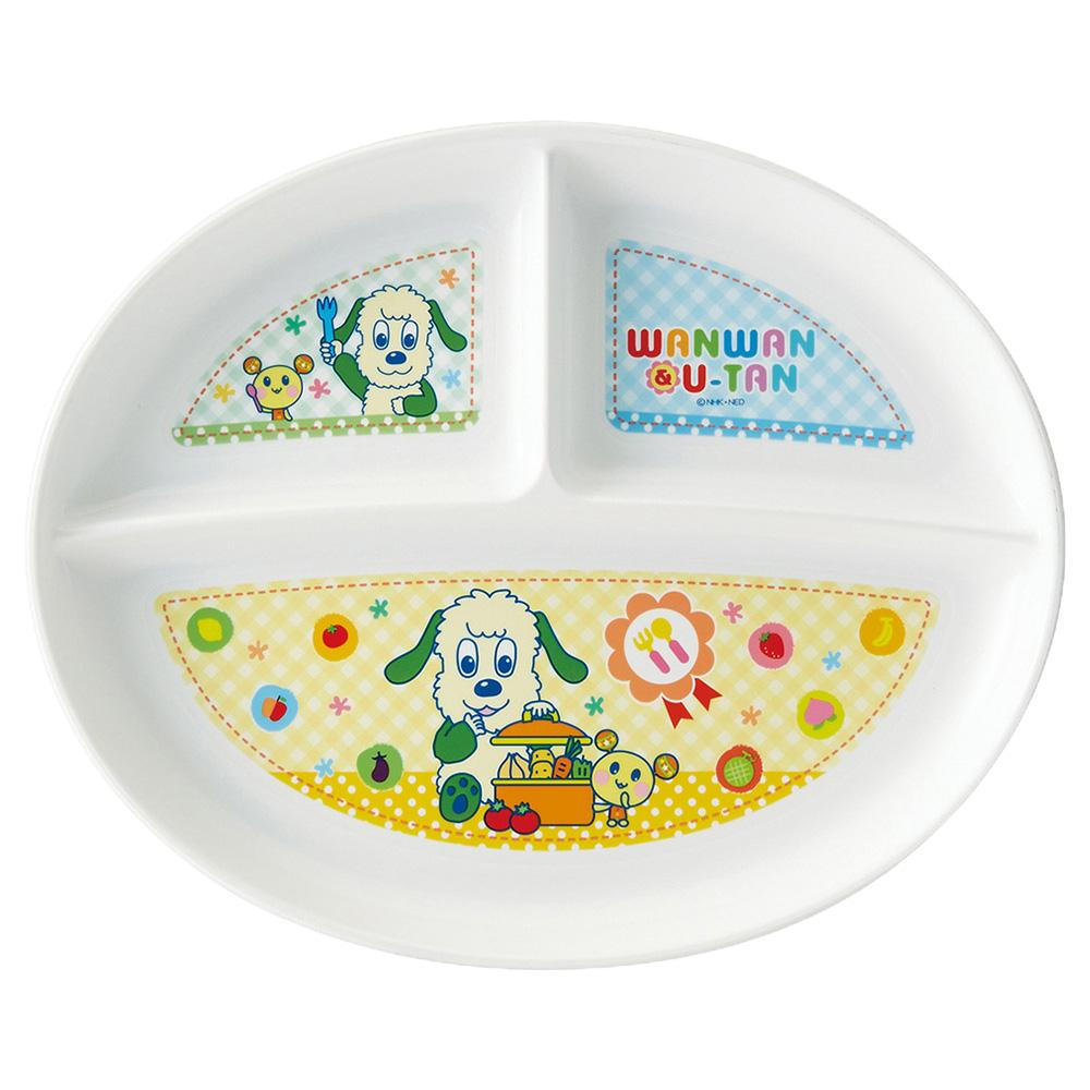いないいないばあっ!食洗機対応PP製ランチ皿