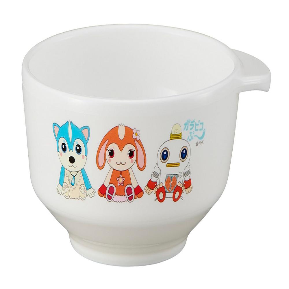 ガラピコぷ~茶碗