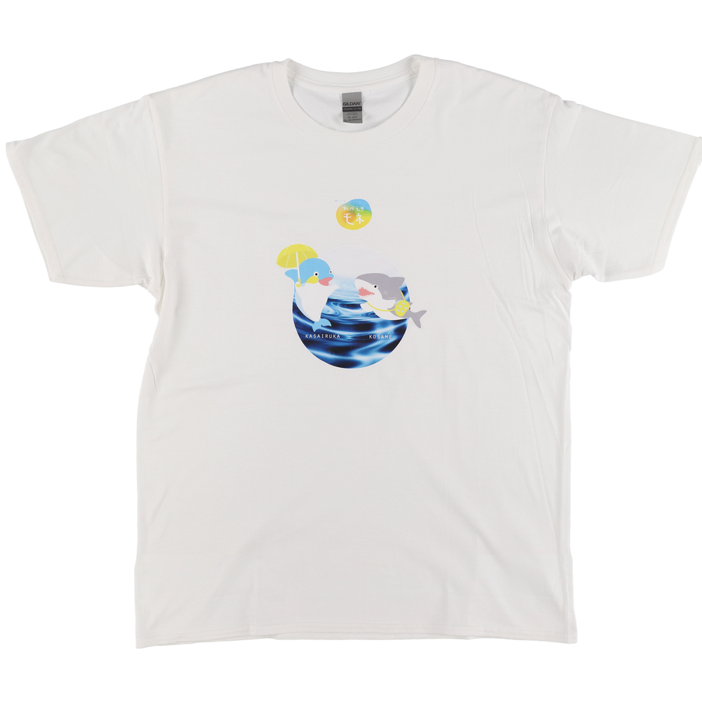 おかえりモネ Tシャツ カサイルカ&コサメM